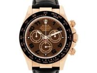 Rolex Everose Daytona in 18k rose gold with Chocolate