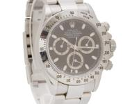 Rolex Daytona in stainless steel. Auto w/ subseconds