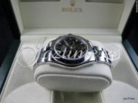 Rolex Daytona 116520 Black Stainless Steel