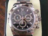 Very Rare - Rolex Daytona Stainless Steel Watch 116520