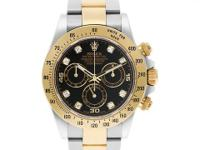 Gents Rolex Daytona in 18k & stainless steel with