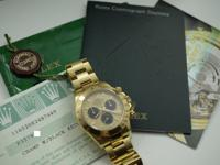 *Comes with original box, papers and hang tag Dial:
