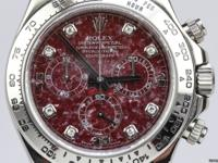 Dial: Grossular Garnet Movement: Automatic Case Size: