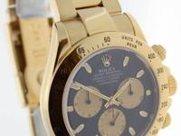 Rolex Daytona 18K Yellow Gold Chronograph Paul Newman