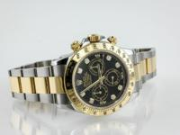 GB1034304-J Rolex Daytona Two Tone Diamond Dial Watch
