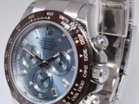 Rolex Daytona Ceramic Chronograph Platinum Diamond
