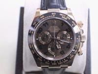 Pre-Owned Rolex Daytona Cosmograph 18K Rose Gold