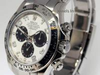 Rolex Daytona Panda Dial 18k White Gold Chronograph