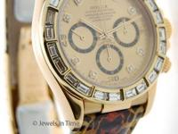 Rolex Daytona Yellow Gold Mens Automatic Watch w/