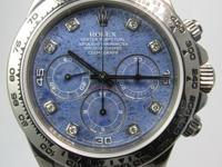 Up for sale is a rare Rolex Daytona Zenith in White
