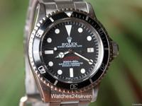 Rolex Oyser Perpetual Date Sea-Dweller with double red