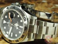 Rolex Explorer 2 Orange Hand 42mm Movement - Automatic