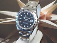 Pictures are of the Actual Watch Auctioned Men's Rolex