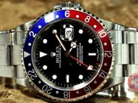 Rolex GMT Master 2 Pepsi Red Blue Bed - Blue Rotating