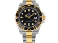 This is a Rolex, Gmt-master Ii 116713ln Steel & 18k
