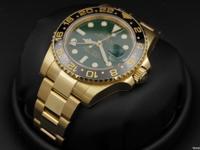 Rolex, GMT-Master II, Green Dial, Ceramic Bezel, 40mm