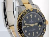 Rolex GMT-Master II 18k Steel Ceramic Box/Papers Mens