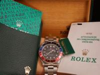 The Rolex GMT-Master was the first Rolex with dual time