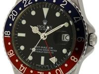 This Is A Beautiful Rolex GMT-Master Pepsi Ref 1675
