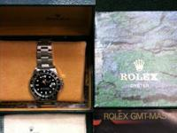 Rolex GMT Stainless Steel, Comes with Box, 1997, U