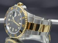 Rolex Gold & Steel Submariner 116613 Factory Diamonds