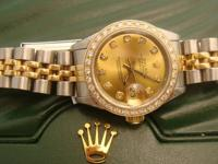 ROLEX LADIES DATEJUST 18k gold & Stainless Steel Model