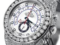 Men's Diamond Rolex Watch Yacht-Master II 2 116680