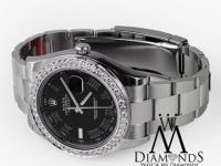 Rolex Datejust II Extra Diamond Authentic Watch Comes