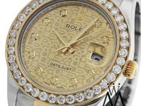Rolex DateJust II Watch comes with Box & Papers This
