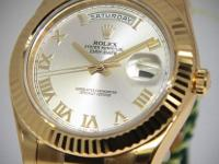 Rolex NEW Day-Date II President 18k Yellow Gold Mens