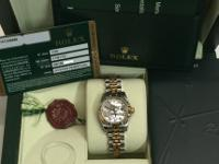 FOR SALE BRAND NEW !! ROLEX WATCH BRAND NEW!! LADIES