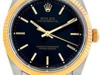Case: Original Rolex no holes stainless steel & 18K
