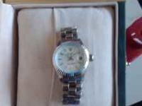 Very nice high end Rolex faux Oyster watch, cost