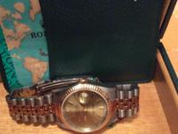 Type:WatchesObject/Variety:MenRolex datejust day as a