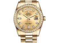 118348-chd Rolex This watch has 18K Yellow Gold case