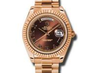 218235 brrp Rolex This watch has 41.00 mm 18K Rose gold