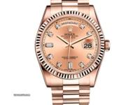 118235 chdp Rolex This watch has 36.00 mm 18K Rose gold