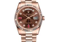118235 chodrp Rolex This watch has 36.00 mm 18K Rose