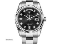 118239 bkdo Rolex This watch has 36.00 mm 18K White