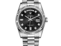 118239 bkdp Rolex This watch has 36.00 mm 18K White
