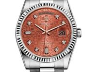 118239 hbjdp Rolex This watch has 36.00 mm 18K White
