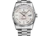 118239 mtado Rolex This watch has 36.00 mm 18K White