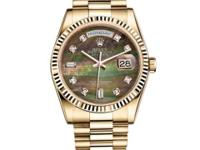 118238 dkmdp Rolex This watch has 36.00 mm 18K yellow