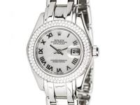 Beautiful preowned Ladies Diamond Rolex timepiece