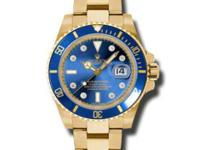 116618-Bld Rolex. This men`s watch has 18K Yellow Gold