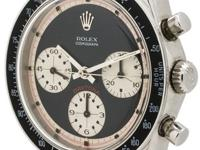 Very rare ref 6241 model Rolex stainless steel Paul