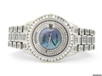 GENUINE ROLEX FULLY LOADED w/35 CT DIAMONDS This is the
