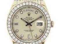Rolex Platinum Gent's Masterpiece, automatic, size