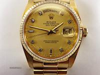 A STUNNING MEN'S ROLEX PRESIDENT OYSTER PERPETUAL