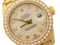 Wristwatch Specifics: Brand- Rolex Model- Datejust